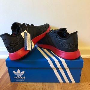 Men shoe adidas X_PLR core Black red size 10